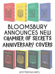 bloomsbury announces new chamber of secrets covers just in time to celebrate harry potter and the chamber of secrets s 20th anniversary