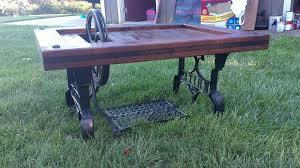 Old Sewing Machine Base