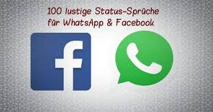 100 Lustige Status Sprüche Für Whatsapp Facebook Freewarede