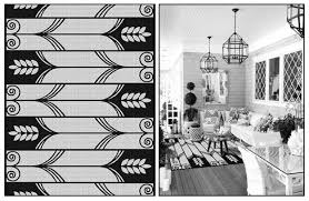 outdoor patio black and white nuctical rugs for modern