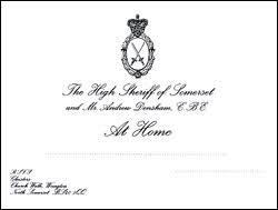 At Home Invitation Personalised At Home Invites The Personal Paper Company