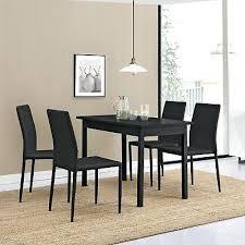 Table Cuisine Noire Ensemble Tables Chaises S 5 Salon Table Cuisine
