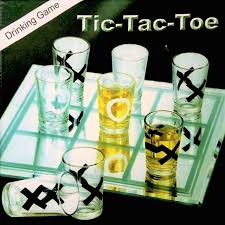 tic tac toe mini drinking party game 9 shot glasses board drinking bachlor party gn enterprises by gn enterprises for toys