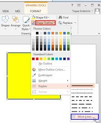 Click the line so you see a small white dot on. Formatting Line Dashes For Shapes In Powerpoint 2016 For Windows