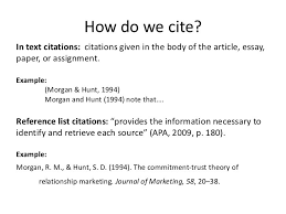 Citing A Quote Delectable How To Quote An Article In An Essay Cite It Right Cmns 48 Winter