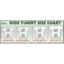 Small T Shirt Size Chart Dj Hiphop Kids T Shirt