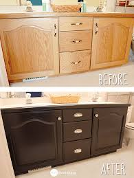 Refinishing Bathroom Vanity Inspiration Give Your Bathroom Vanity A Facelift