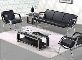 small office sofa. Shanghai Office Furniture Leisure Business Minimalist Sofa Leather Steeliness Small Casual Seating