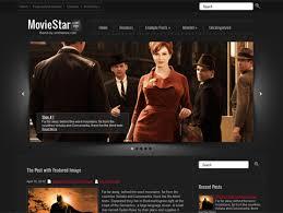 Wordpress Movie Theme Moviestar Free Wordpress Theme