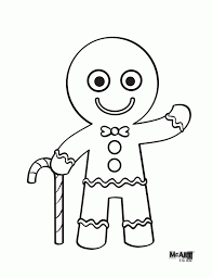 Coloring Pages Of Gingerbread Man Story - Coloring Home