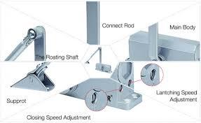 door closer adjustment. hydraulic automatic door closer adjustment hold open for sliding 100kg