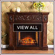 Amazoncom Southern Enterprises Loft Portable Indoor  Outdoor Portable Fireplaces