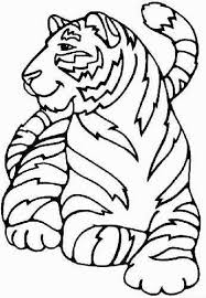 Small Picture Tiger Picture To Color Tiger Color Pagegif Coloring Pages Maxvision