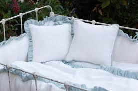 lulla smith baby bedding dora linens laundered linen