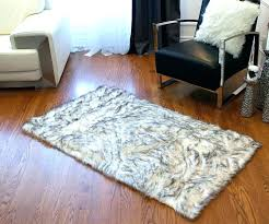 faux sheepskin rug 8x10 faux fur area rug faux fur area rug faux sheepskin grant gray