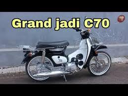 modifikasi c70 bic honda grand you