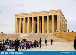 Anıtkabir Ataturk Memorial In Ankara, Turkey Editorial Image - Image of  coran, aksaray: 154235205