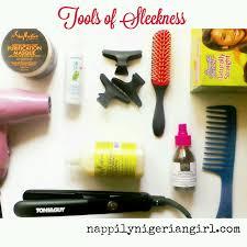 how to diy silk press on natural hair