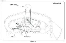 Mtd 46 Inch Deck Belt Diagram Belt Image And Picture