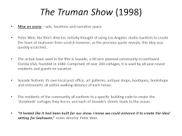 Truman Show Quotes Beauteous The Truman Show 48 Mise En Scene Ppt Video Online Download