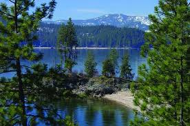 תוצאת תמונה עבור Idaho's Lake Coeur d'Alene