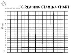 Reading Stamina Chart Class Worksheets Teaching Resources