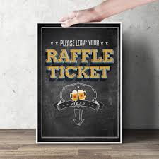 raffle sign diaper raffle sign baby is brewing printable file only bring
