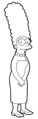 Coloriage Simpson Les Beaux Dessins De Dessin Anim Imprimer