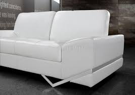 contemporary leather loveseat mid century modern contemporary