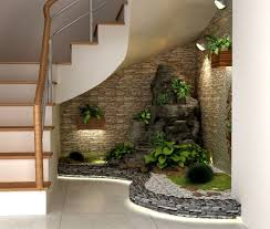 Pebble Garden How To Make A Small Pebble Garden Under The Stairs