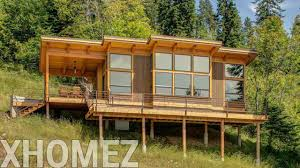 plans photos of design hillside cottage incredible cabin