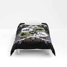 dragon training crest how to train your dragon comforters by captainlaserbeam society6