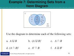 Venn Diagram Aub Venn Diagrams And Set Operation Ppt Download