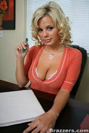 Bree olsen big tits office