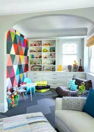 modern playroom furniture. Childrens Playroom Furniture Modern Contemporary With Graphic Accent Wall Kid .
