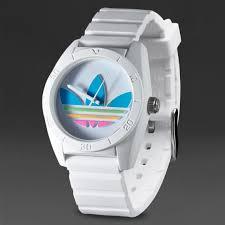 adidas originals santiago watch mens select accessories white adidas originals santiago watch white