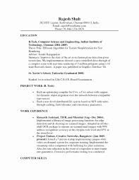 System Administrator Resume Format For Fresher Best Of Ccna Resume