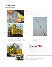 Grove Rt880e Manitowoc Cranes Pages 1 20 Text Version