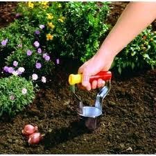 garden auger. Garden Bulb Planter Wolf Auger
