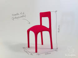 1 6 scale chair 3d modelsshapeways