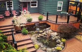 home elements and style medium size backyard deck designs plans with fine best ideas only multi
