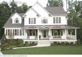House Plans Wrap Around Porch   Smalltowndjs com    Lovely House Plans Wrap Around Porch   Country Style House With Wrap Around Porch
