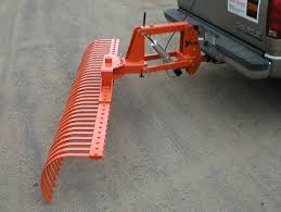 Used Landscape Rake Outdoor Goods