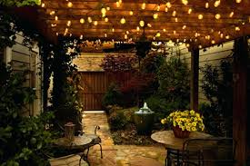 backyard string lighting cool patio doors with patio string lights led