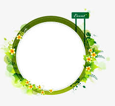 Simple Fresh Border Design Border Vector Fresh Green Png And