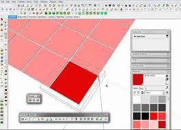 sketchup tile brick technique you
