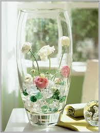 Tall Glass Vase Decor