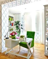home office decoration ideas. Interesting Home Luscious Green Color Home Office Decor Ideas Via My Life Blog Elle  Rustic  Best On Module  For Home Office Decoration Ideas D
