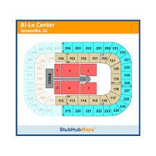 Bon Secours Wellness Arena Hockey Seating Chart Bon Secours Wellness Arena Formerly Bi Lo Center Events