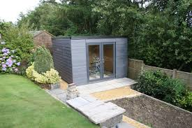 build a garden office. insulated garden studio office room self build sip kit foundations epdm roof foundation and a